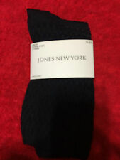 Jones New York Ladies Crew Socks Super Soft - Color Navy - Size 9 -11 - 2 Pairs