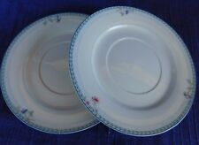 Oneida Blue Lattice SAUCERS - SET of TWO (2) have more items to this set