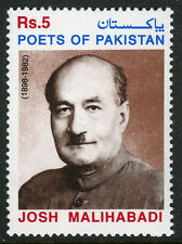 Pakistan 938, MNH. Shabbir Hassan Khan Josh Malihabadi, Poet, 1999