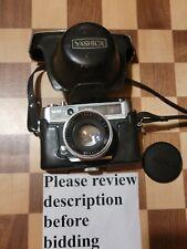Yashica Lynx-14E Camera Yashinon Dx45mm f/1.4 Lens Untested For Parts