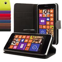Nokia Lumia 630 Coque de protection Housse Pochette Wallet