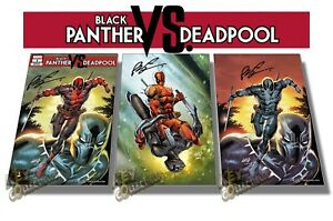 Black Panther vs Deadpool  #1 ROB LIEFELD EXCLUSIVE Variants - COVER A / B / C