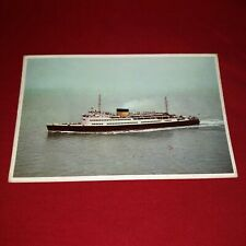 m/s Prins Albert Dover-Ostend Line Ferry Belgium Postcard Used 1958 Real Photo