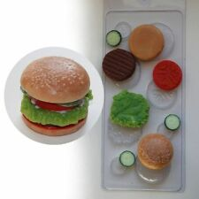 """Hamburger"" plastic soap mold soap making mold mould"