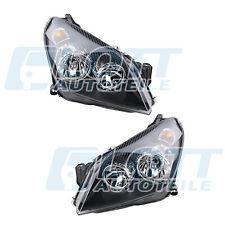 Hauptscheinwerfer schwarz links & rechts mit Motor für OPEL ASTRA H Bj. 04-09