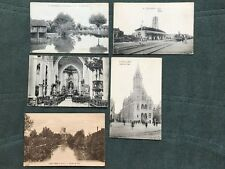 5 x WW1 postcards of Poperinghe and Saint-Omer