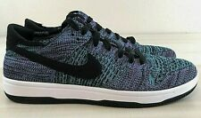 Nike Dunk Low Flyknit Chlorine Blue Sneakers 917746-005 Men's Sz 9.5