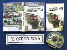 Need For Speed Pro Street Play Station 2 Playstation 2 Ps2 BUENA CONDICION