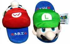 Nintendo Super Mario Brothers Mario + Luigi Kids Children Plush Slipper 1 Pair