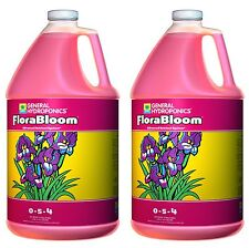 General Hydroponics (2) Gallons of FloraBloom Liquid Plant Grow Formula | Gh1433