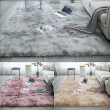 Comfort Soft Hairy Carpet Rectangular Faux Fur Shaggy Rug Bedroom Mat NEW