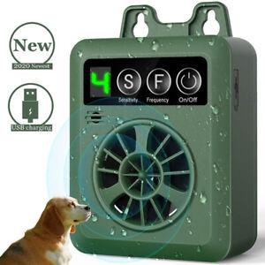 Dog Anti-Barking Control Device Bark Stop Repeller Harmless Deterrents Silencer