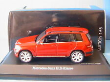 MERCEDES BENZ GLK OFFROAD RED SCHUCO 07246 1/43 ROT NEW