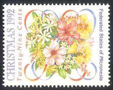 Micronesia 1992 Natale/Fiori/Piante/NATURA/Saluti 1v ref:s1679