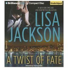 A Twist of Fate by Lisa Jackson (2013, CD, Unabridged)