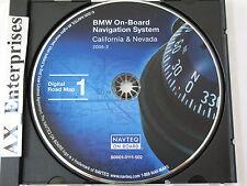 2005 BMW 3 5 7 Series M3 M5 X5 Z8 Navigation CD # 502 CD Map: California Nevada