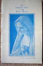 The Immaculate Heart in the Fatima Message - Father Fernando of Fatima - Signed!