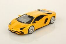 LOOKSMART LOOLS468A - Lamborghini Aventador S jaune 2017   1/43