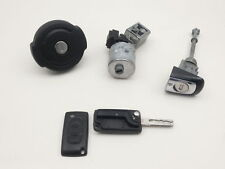 Ignition Switch Key Door Lock Cylinder for Citroen C5 RC5 Td 08-10