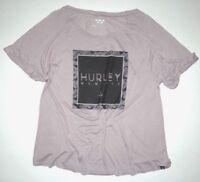 Hurley Womens Riley Raglan Tee Top Shirt Tshirt t Tee Small