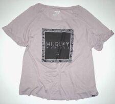 New Hurley Womens Riley Raglan Tee Top Shirt Tshirt t Tee Small