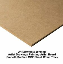 Cloudy Day Pack of 4 12 weather embelishments about 100mm Wide-High 3mm MDF ~02