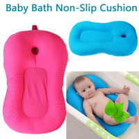 Newborn Baby Toddler Infant Soft Seat Tub Bath Floating Air Cushion