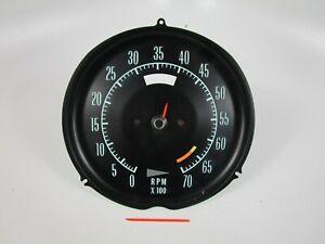 1968 - 1971 Chevrolet Corvette Tachometer Tach RPMs
