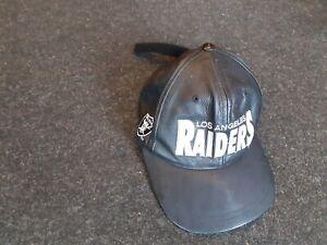 los angeles raiders 1992 leather cap