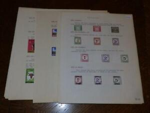 (5261) BOTSWANA STAMP COLLECTION M & U ON ALBUM PAGES