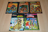 lot 5 albums CONAN le barbare - Artima Color Marvel Super Star (1ère série)