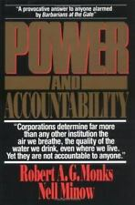 Power and Accountability: Restoring the Balances of Power Between Corporations a