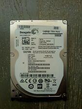 """Utilisé Seagate 500 Go Disque dur interne 2.5"""" SATA ST500LT012"""