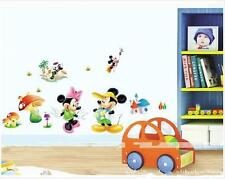 Disney mickey & minnie mouse Removable Wall Stickers Decal Kids Home Decor USA