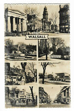 POSTCARD 'WEST MIDLANDS' Walsall (Multi Views) (RP) /A-355