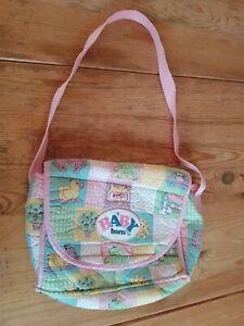 Baby born, Zapf Creation Tasche, kleine Puppentasche, Wickeltasche, 25x20x9 cm