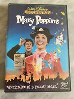 """DVD WALT DISNEY """"MARY POPPINS"""" I CLASSICI 1^ EDIZIONE BUENA VISTA VENDITA ITALIA"""