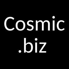 Cosmic - premium dictionary word domain name - No reserve!