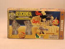 Blockmen Military Building System - Desert - Hot Stuff #3753 MIB 1999
