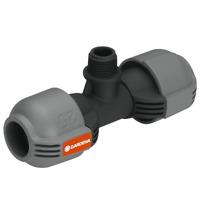 "GARDENA T- Stück Sprinkler-System Quick & Easy Verbindung 1/2"" -> 25mm"
