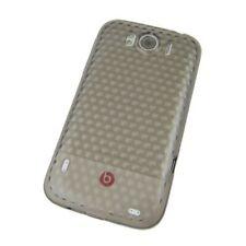 TPU Case Abdeckung grau mit Diamant Muster Case Cover Schale HTC Sensation XL