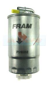 FRAM PS10352 DIESEL FUEL FILTER VAUXHALL OPEL CORSA D 1.3 CDTI