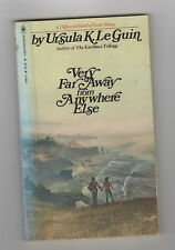 URSULA K LEGUIN pb Very Far Away From Anywhere Else novella library discard
