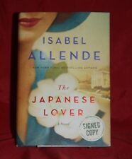 SIGNED The Japanese Lover Isabel Allende 2015 HC/DJ 1st ed. romance,historical