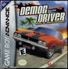 Demon Driver (Nintendo Game Boy Advance, 2004) Factory Sealed