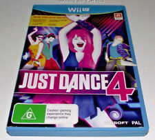 Just Dance 4 Nintendo Wii U PAL *Complete*