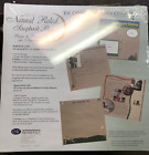 """CREATIVE MEMORIES 12"""" X 12"""" Natural Ruled scrapbook pages- 5 Sheets 10 Pages NIP"""