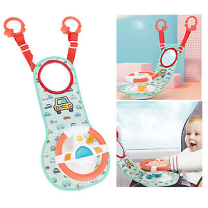 Musical Kids Baby Car Seat Backseat Driver Wheel Toy Infant Role Play Game