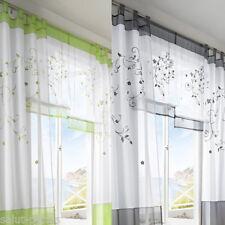 SP Floral Voile Rideau De Porte Fenêtre Piéce Balcon Panneau Chambre Fantaisie