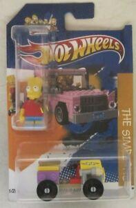 Hot Wheels CUSTOM BART SIMPSON & LEGO CAR - Limited Edition 1/25 Made